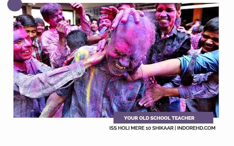 Old-School-Teacher-whose-stick-indori-holi-shikaar-indorehd