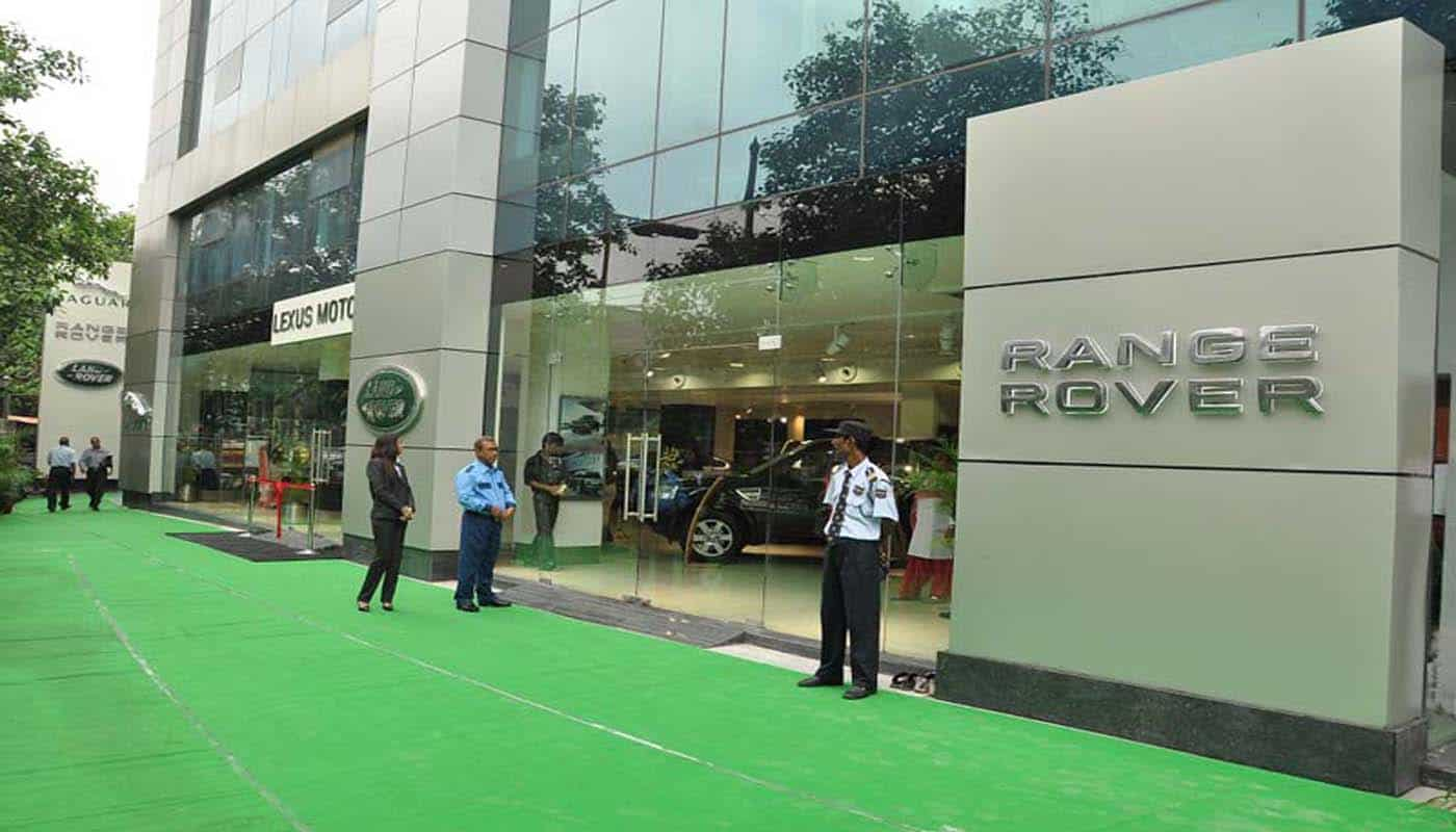 Jaguar Showroom Indore Indorehd