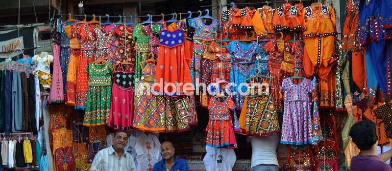 traditional at rajwada indore, navratri dresses in indore, markets - indorehd