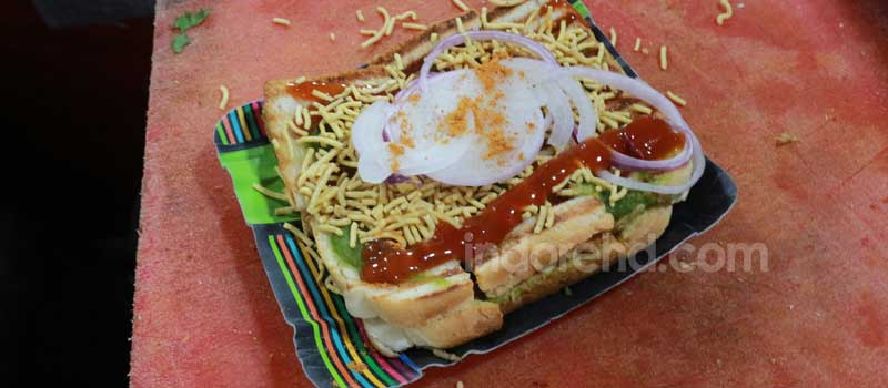 sandwiches, junk food in indore, street food in indore - indorehd