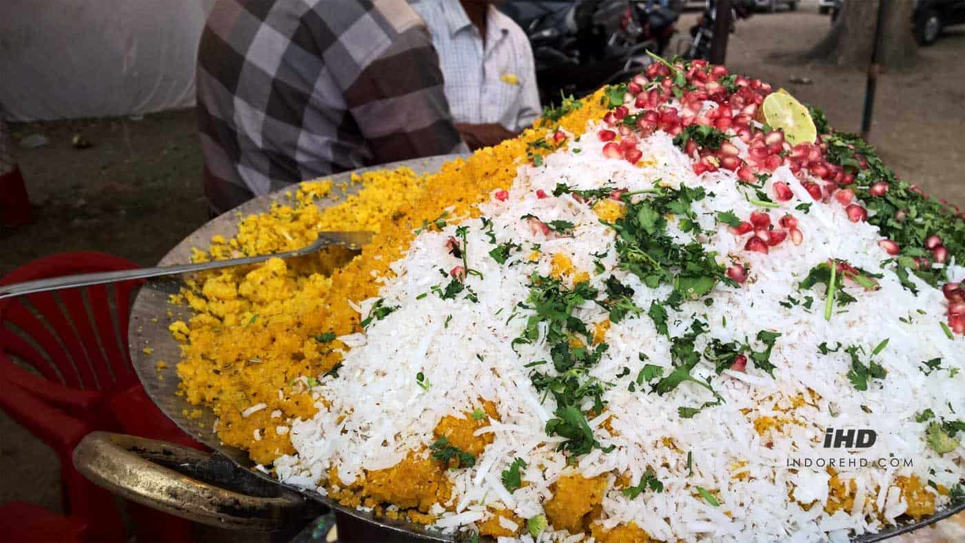 Street food in indore