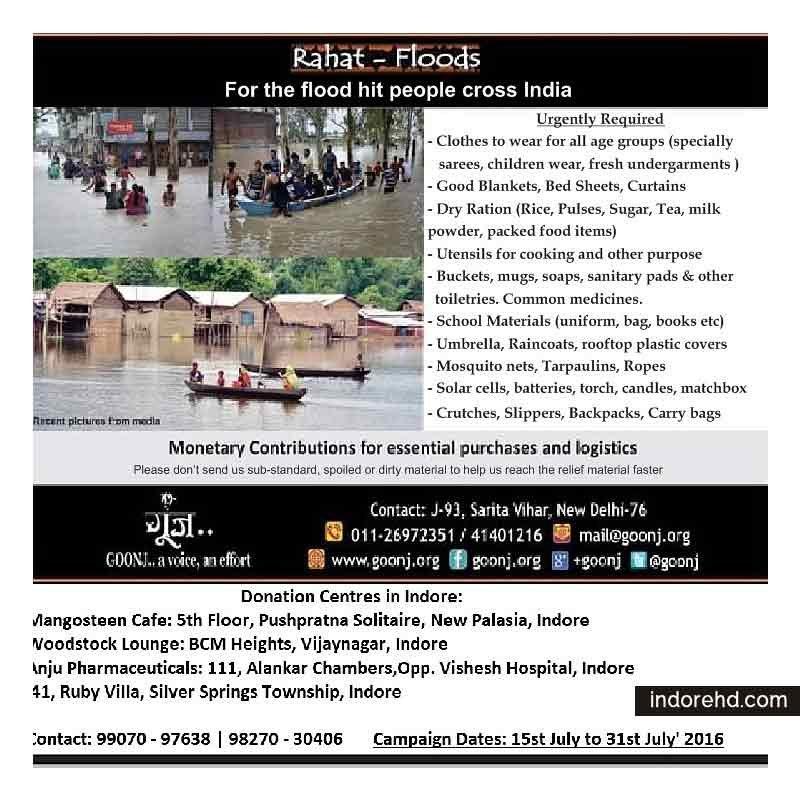 Rahat-Floods-Donation-Drive-IndoreHD