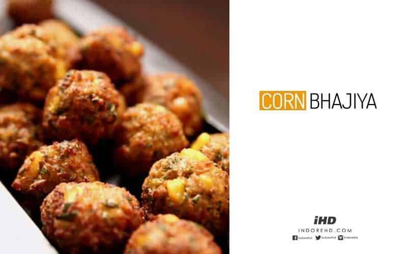 how to make corn bhajiya
