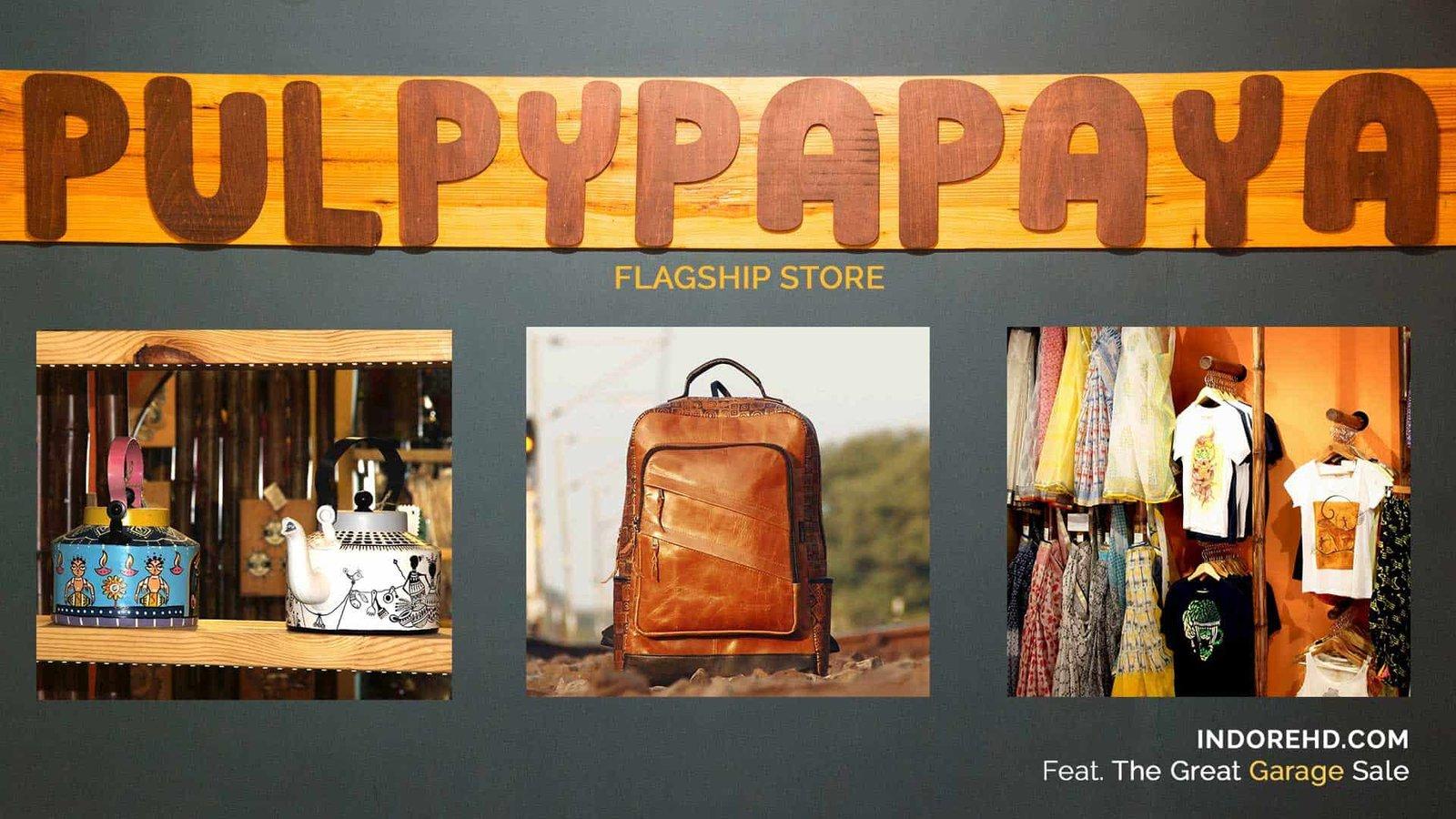 Pulpypapaya-garage-sale-cover-jan17-indoreHD