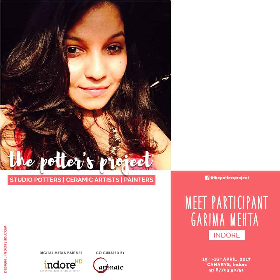 the potters project event participant-Garima mehta - indore-indorehd