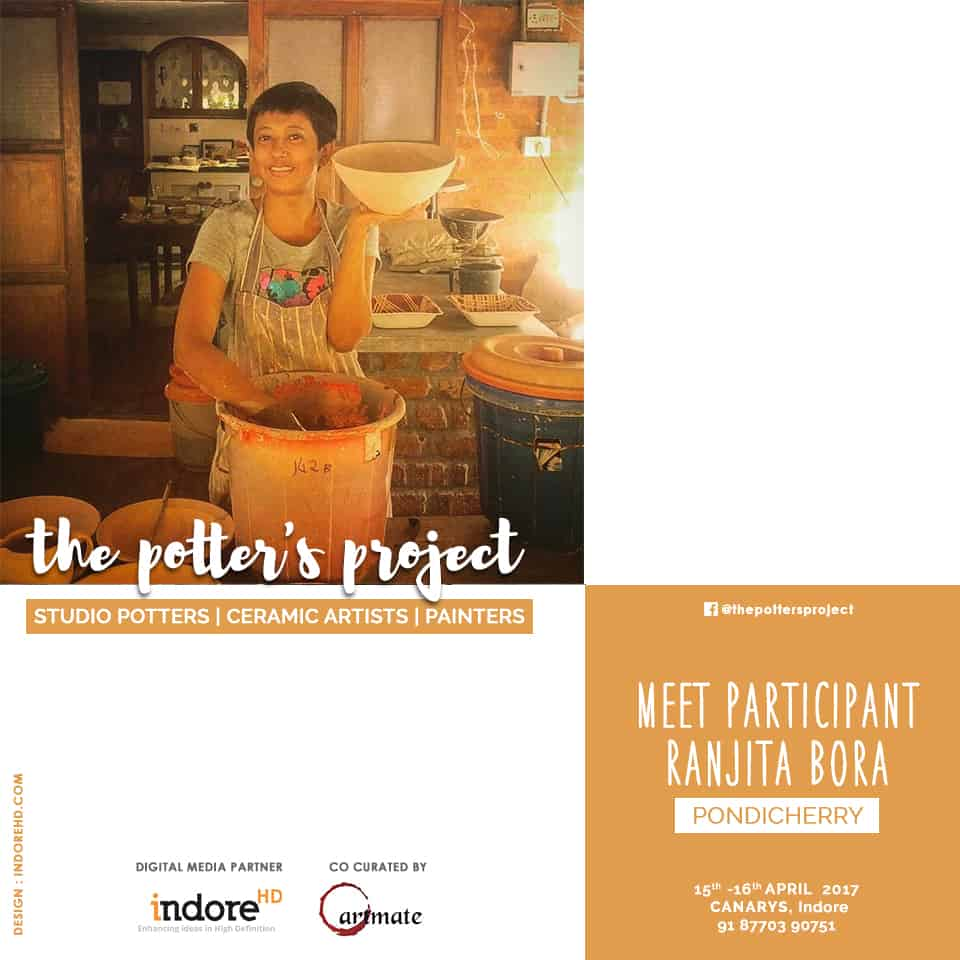 the potters project event participant-Ranjita Bora- indore-indorehd