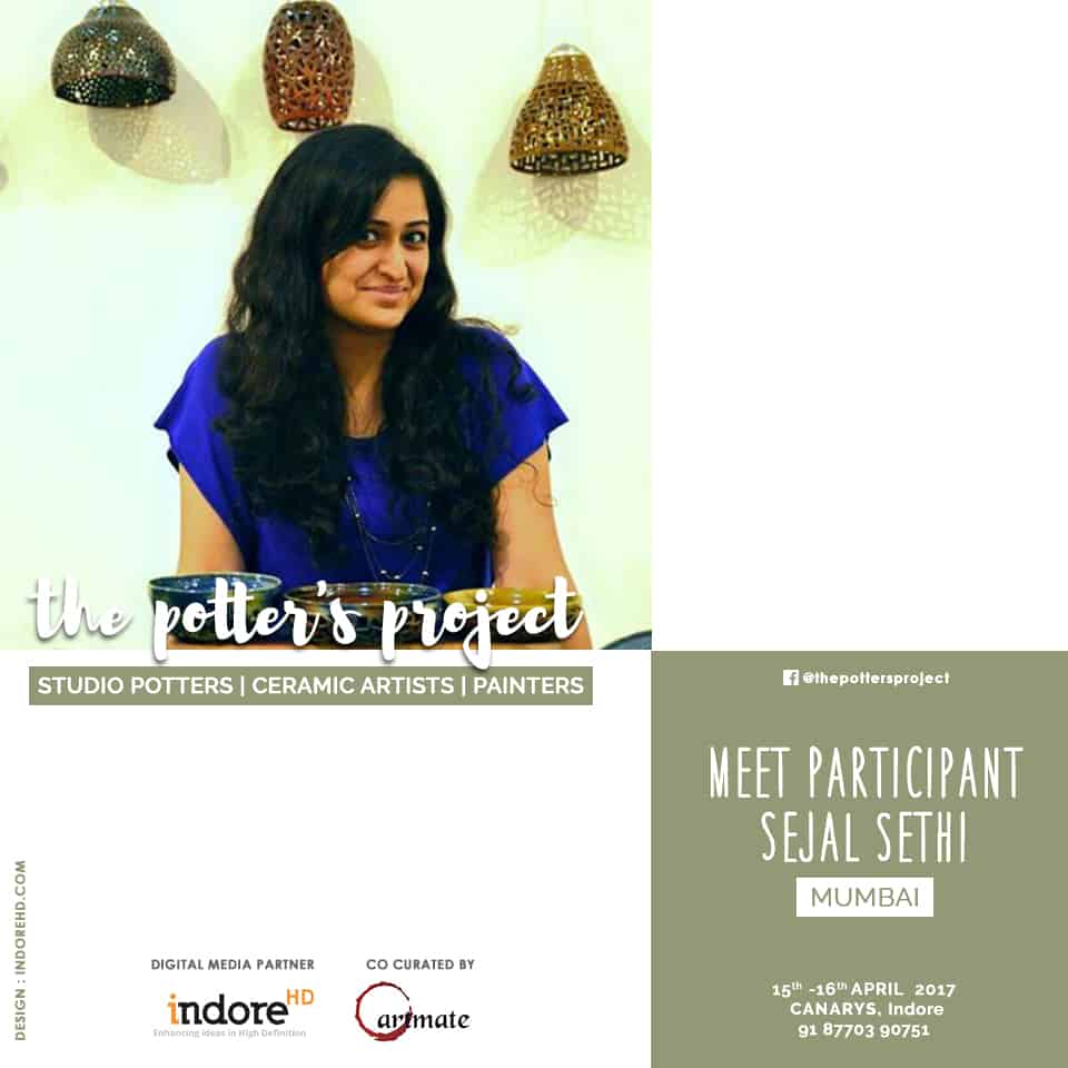 the potters project event participant-Sejal sethi - indore-indorehd