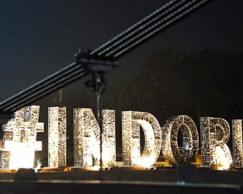 """The Art and Story behind """"Hashtag Indore"""""""