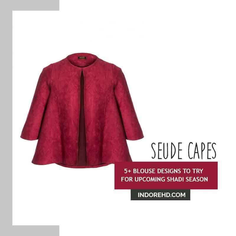 Suede-Capes-style-blouse-IndoreHD