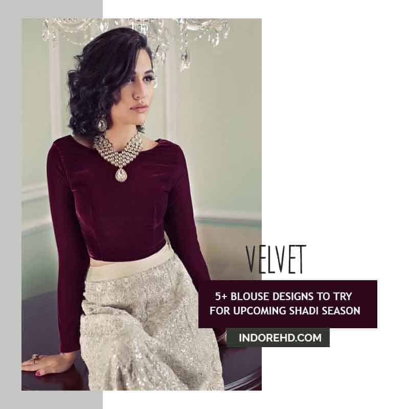 Velvet-Blouse-IndoreHD