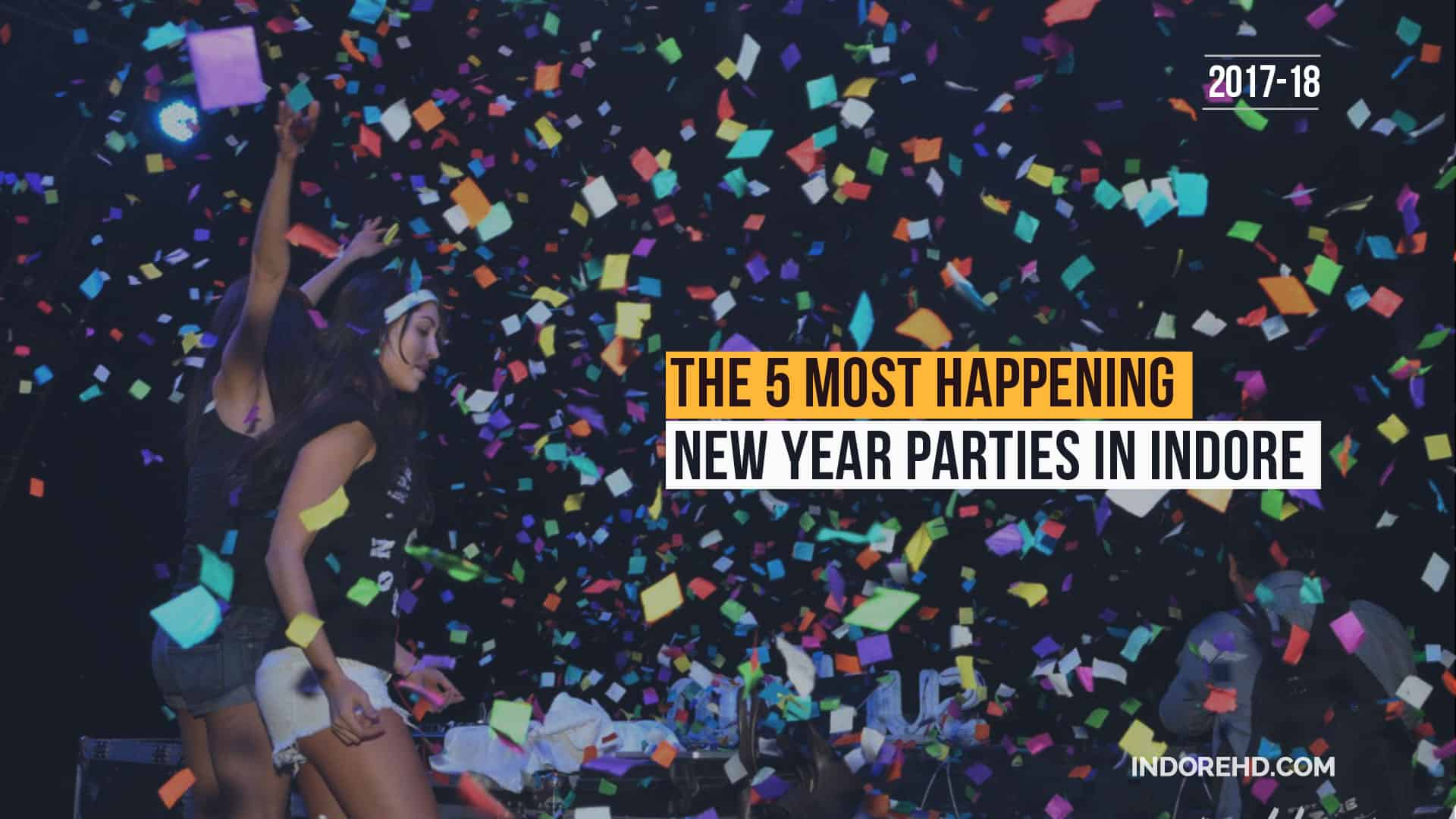 Best New Year Parties Indore