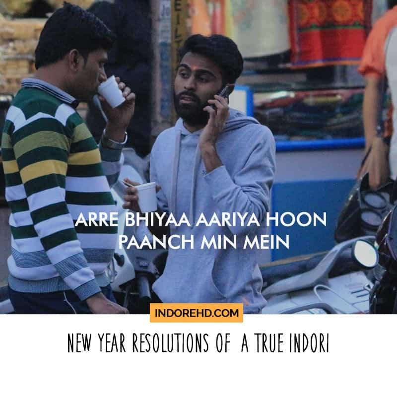 Indori New year resolution 2018 blog- IndoreHD