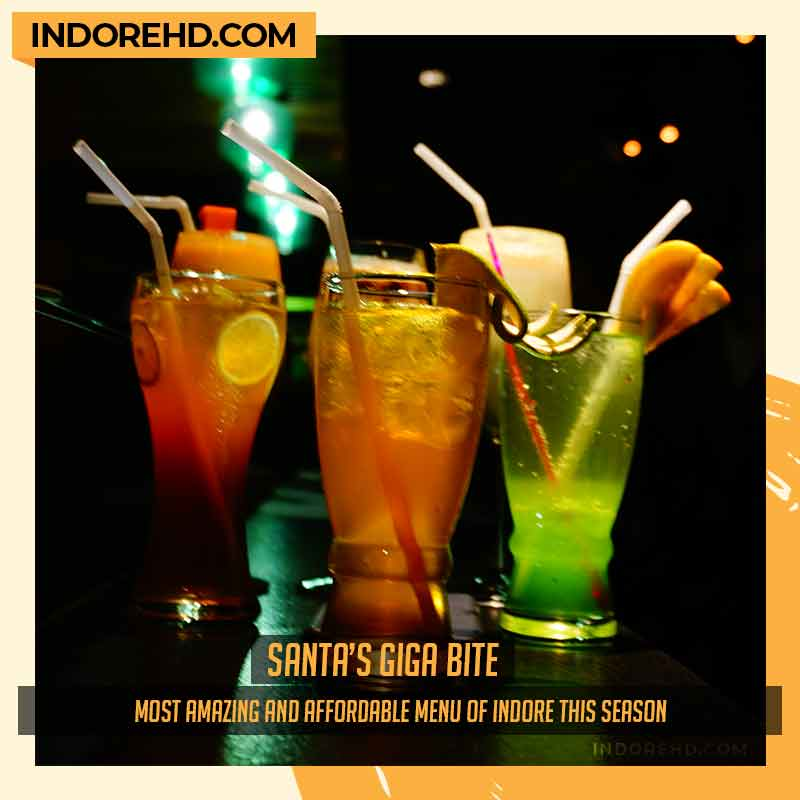 mocktails-santas-giga-bite-Punchin-restaurant-indore