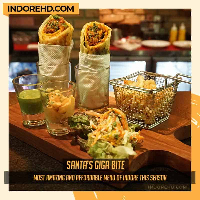 Garden-greensantas-giga-bite-Punchin-restaurant-indore