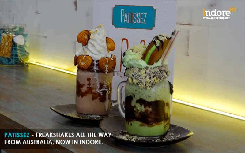 Freakshakes-Hartellas-Mint-Conditioned-Patissez-Indore-IndoreHD