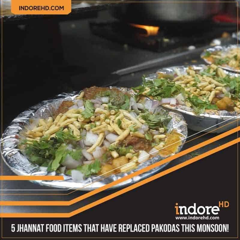 5 indore monsoon food items- Aaloo Tikki Chaat