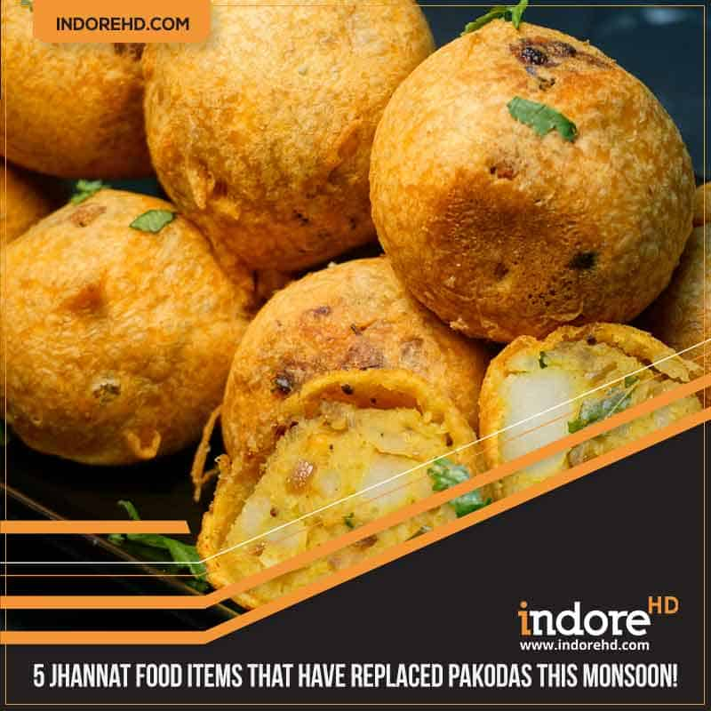 5 indore monsoon food items- Aloo Vada
