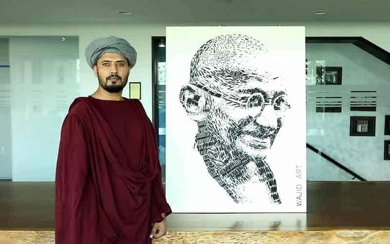 wajid khan art work