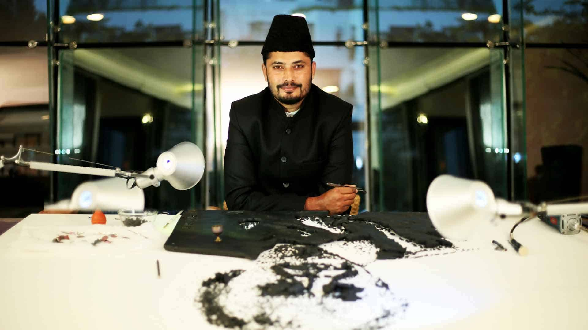 wajid khan- the nail artist