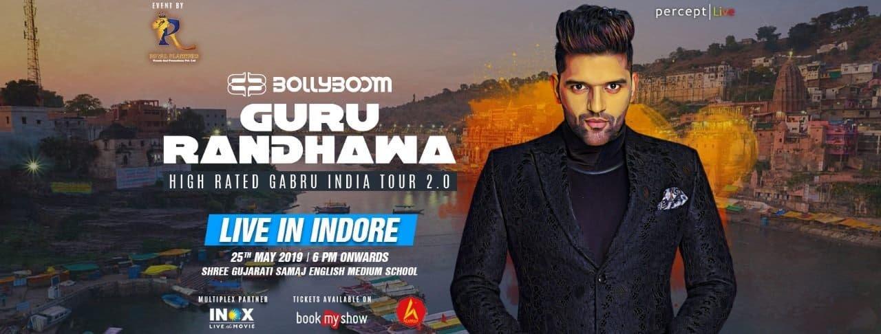 Bollyboom Guru Randhawa India Tour 2.0 - Live in Indore