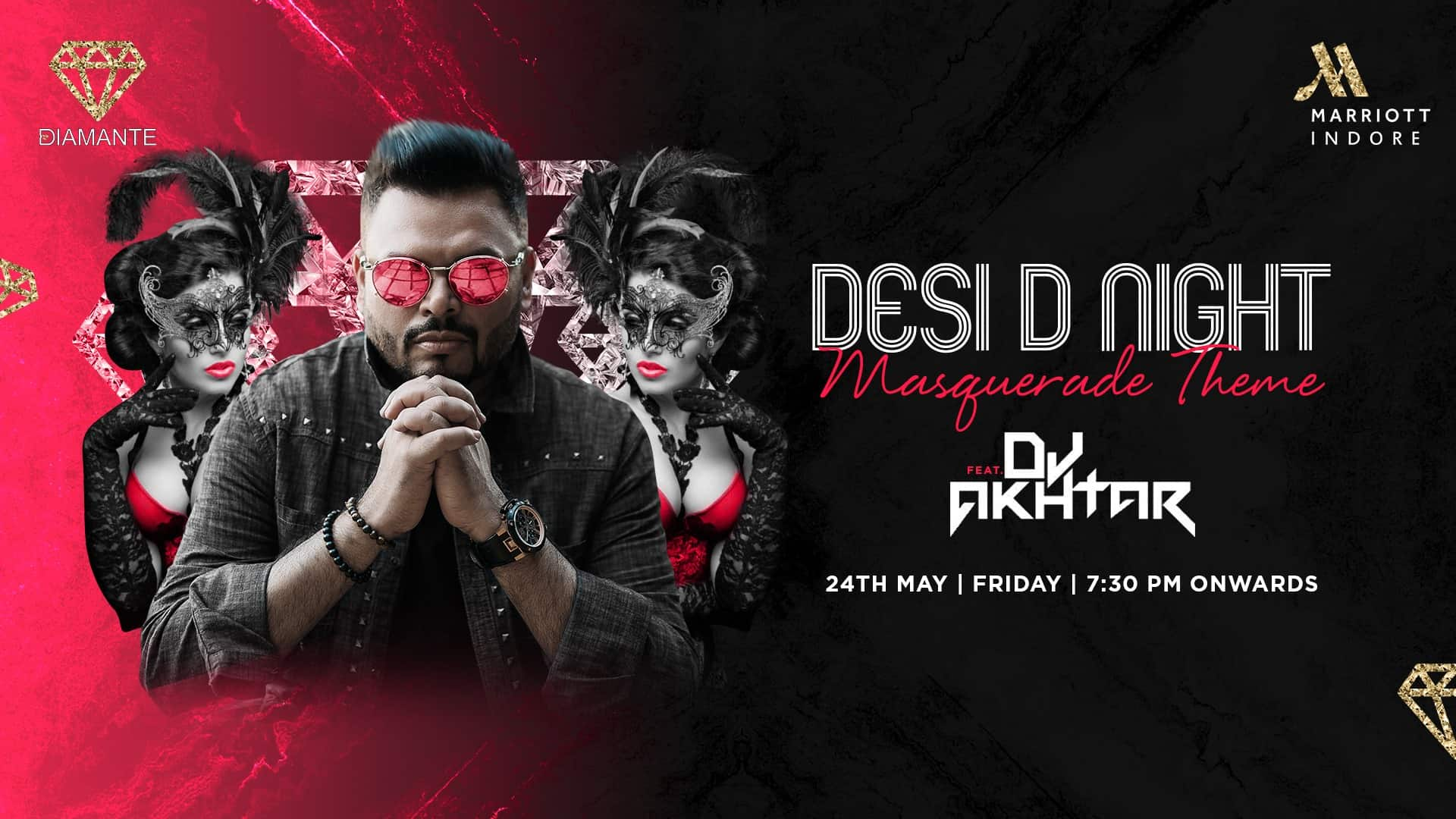 Desi D Night ft. DJ Akhtar