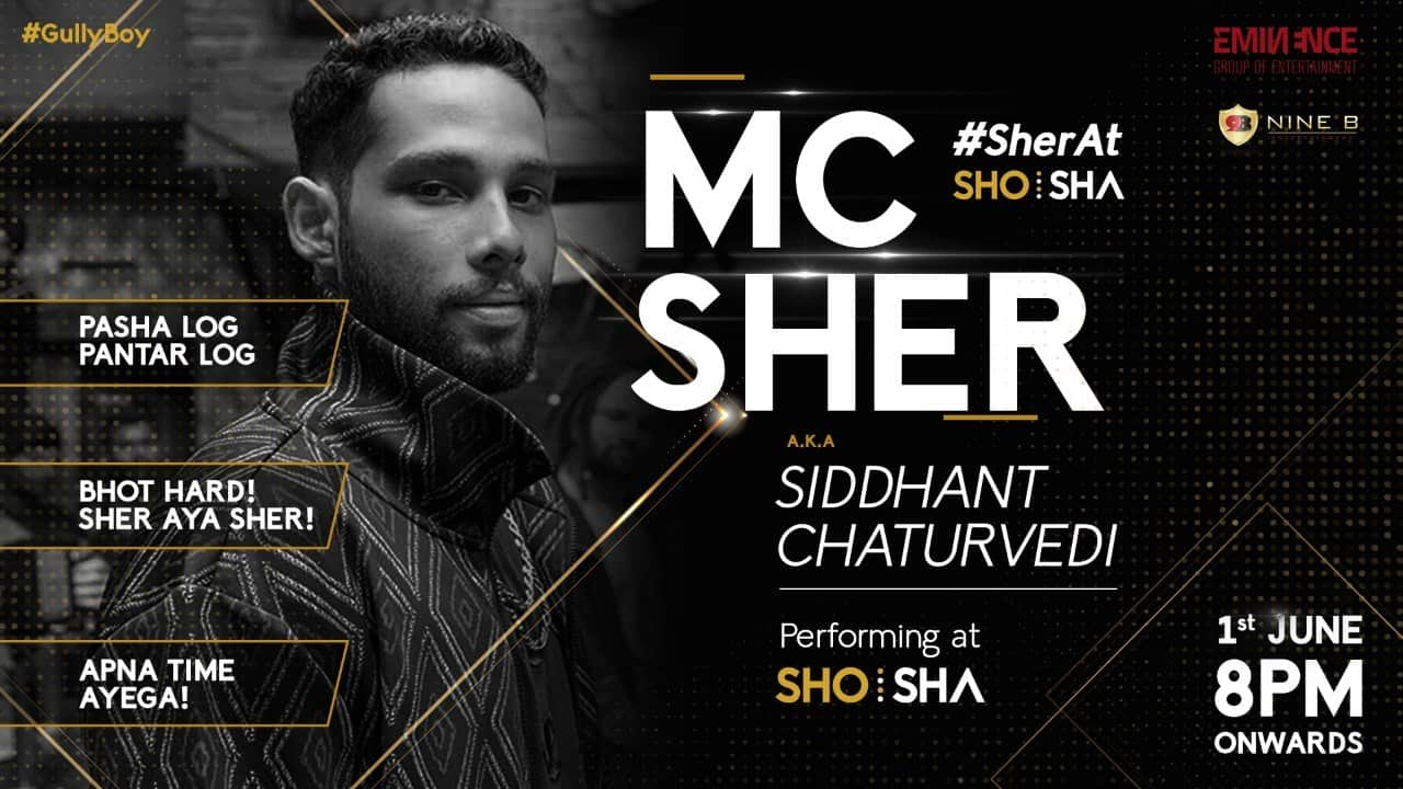 MC Sher at ShoSha Indore