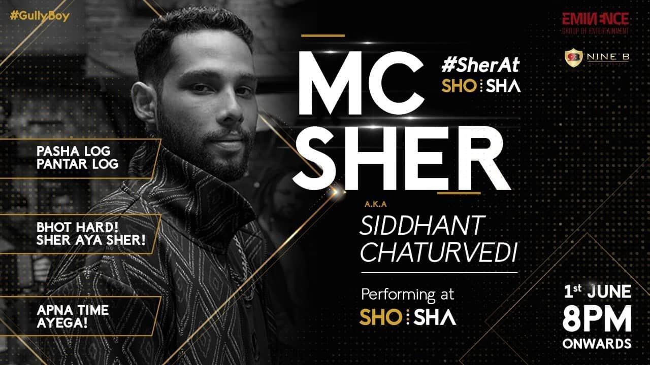 MC Sher at ShoSha Indore