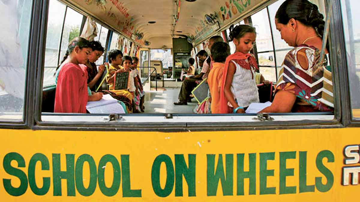 Indore School on Wheels - IndoreHD