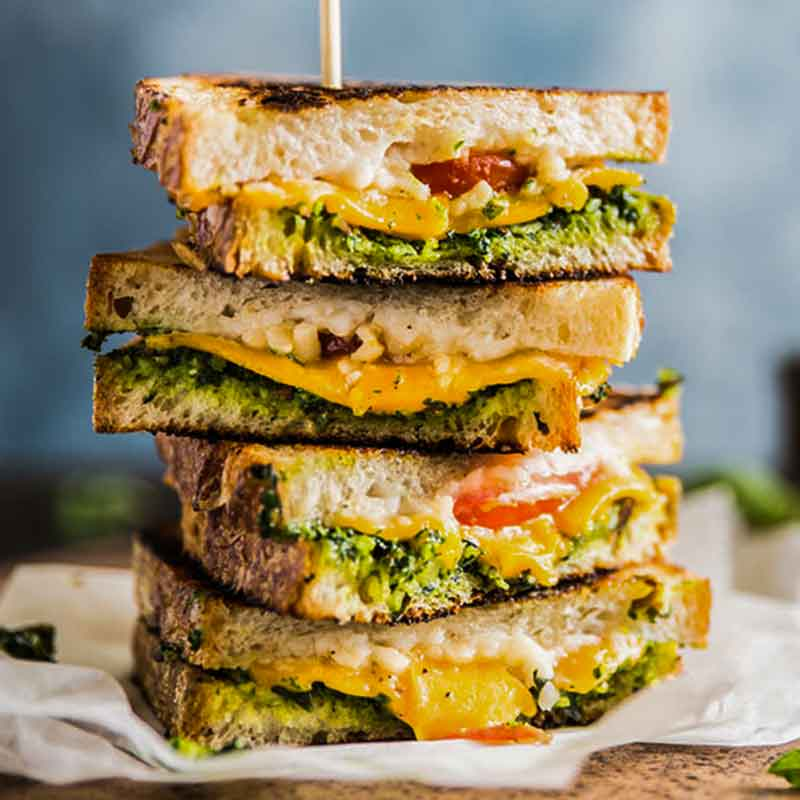 grilled veg pesto sandwich- IndoreHD