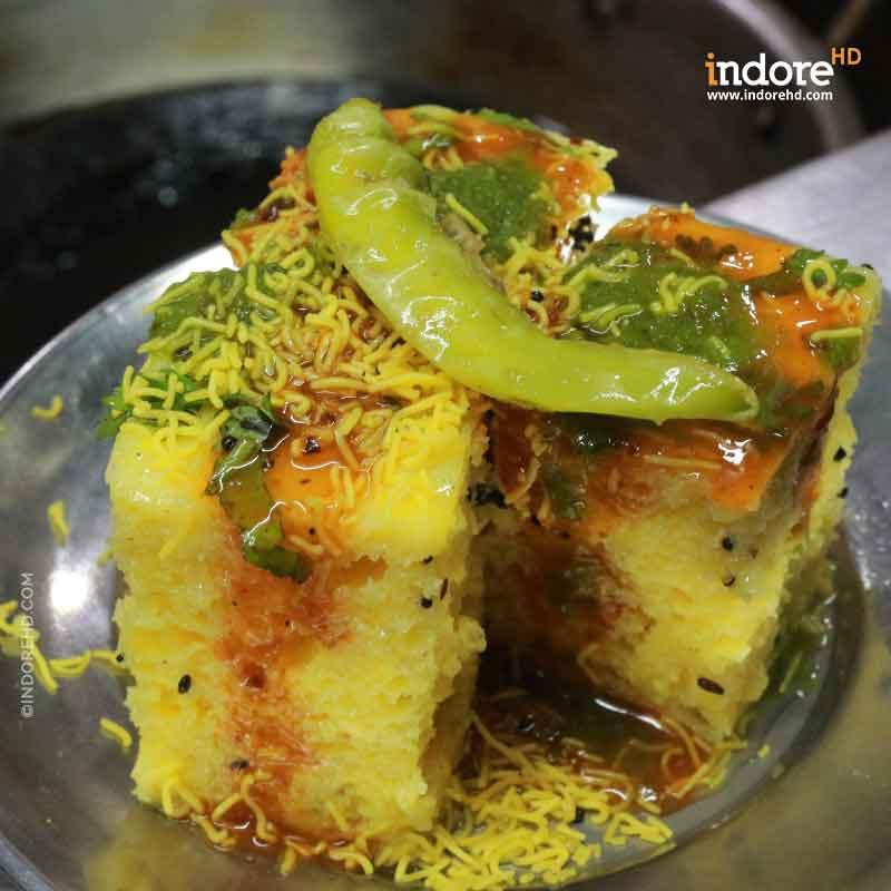 Steamed Dhokla- IndoreHD