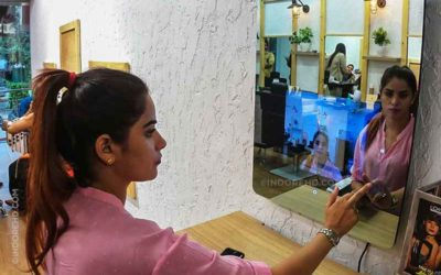 Smart Mirror Virtual Makeup Indore HD