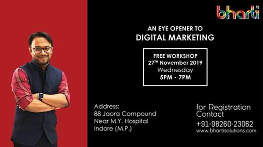 digital marketing workshop Indore- IndoreHD