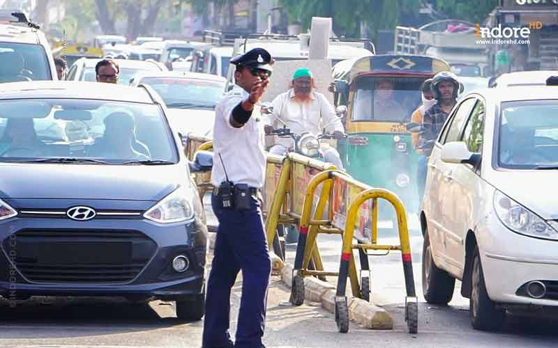 Indore Traffic Management- IndoreHD