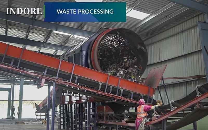 Plastic waste disposal machine Indore