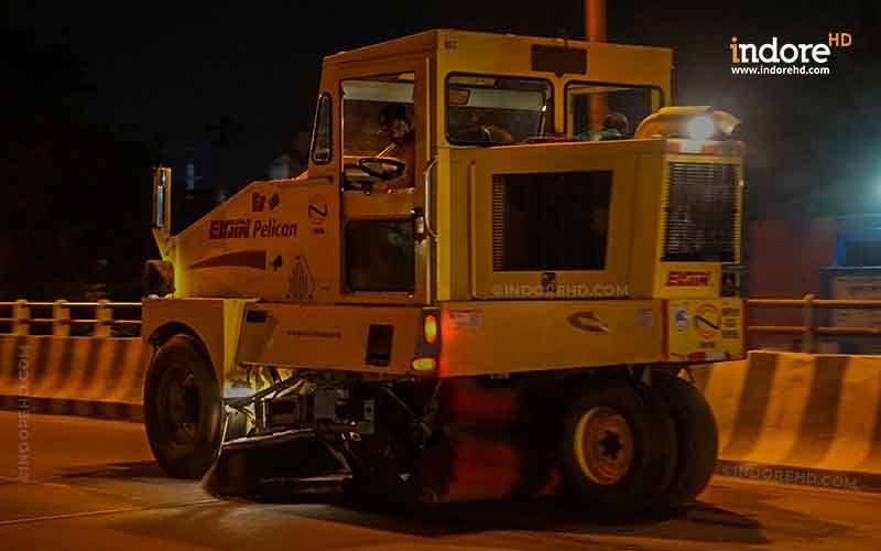 Mechanised  Road Cleaning Machine  Indore