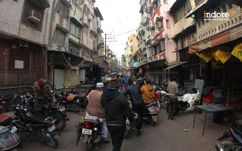 haphazard vehicle parking Indore- IndoreHD