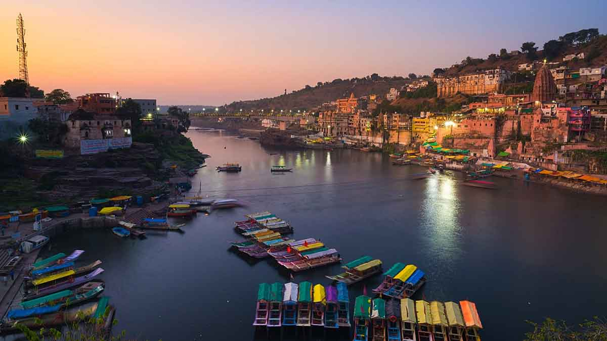 omkareshwar temple- MP- IndoreHD
