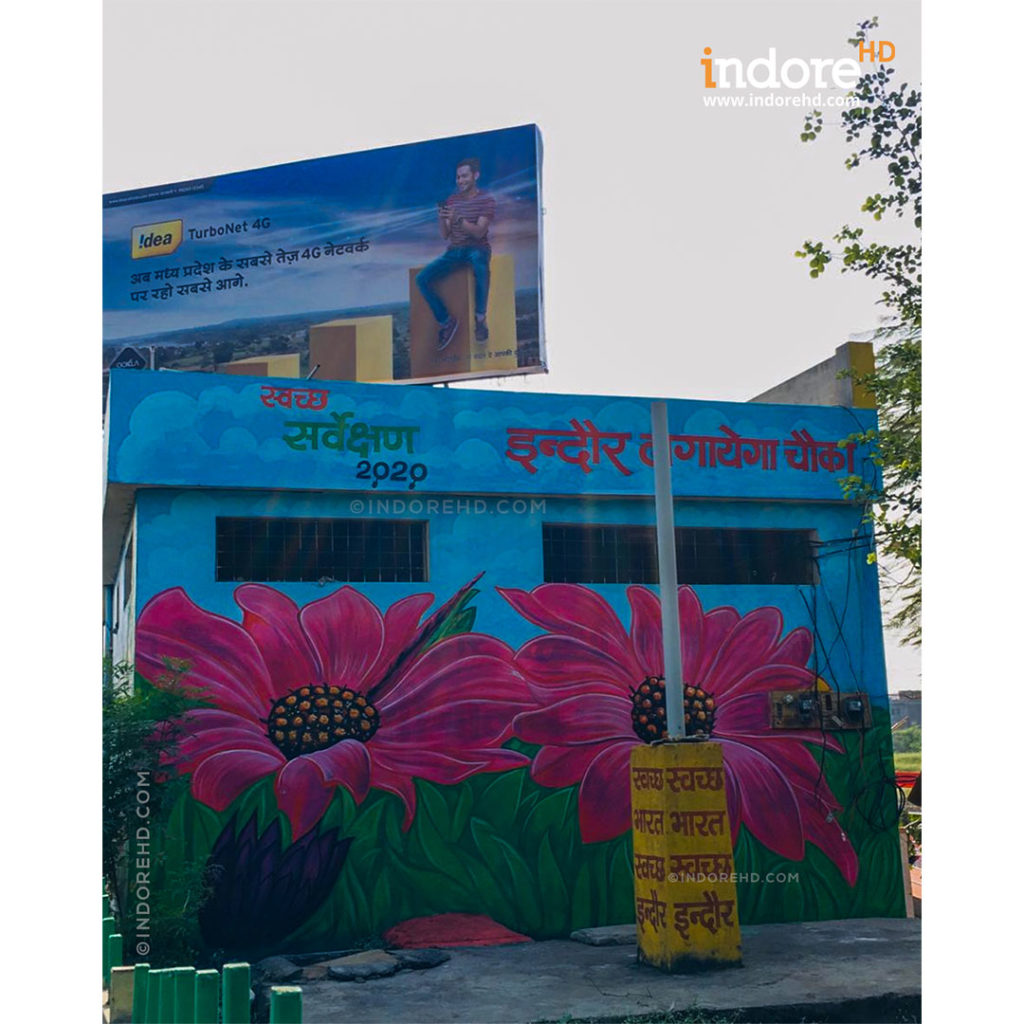 beautifying Indore community toilets- IndoreHD