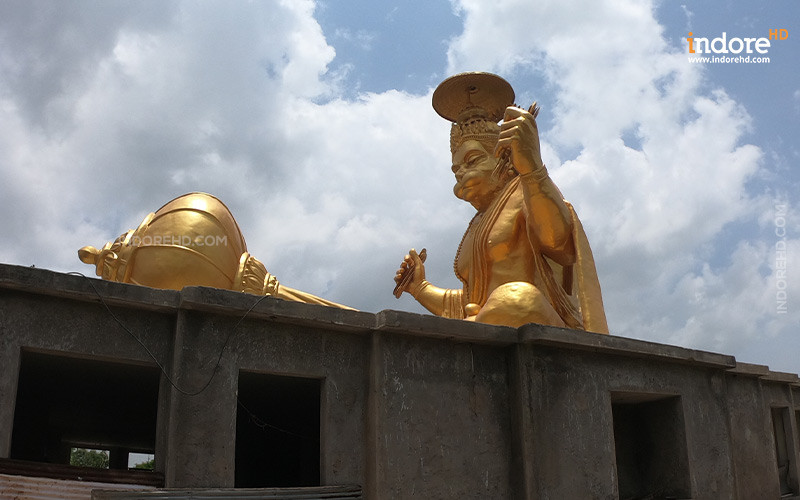 biggest hanuman idol at Pitra Parvat- IndoreHD