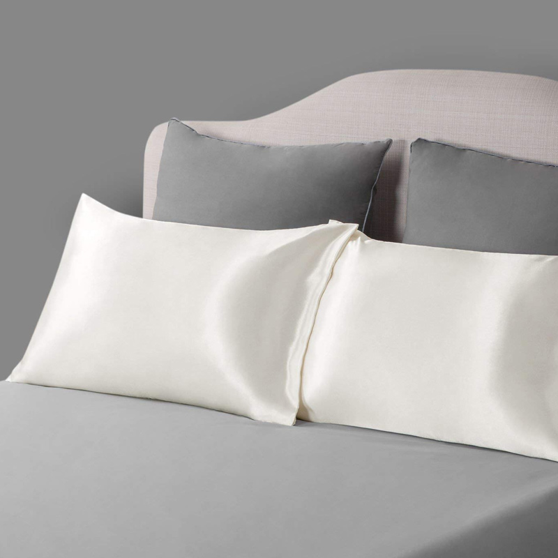 use satin pillow covers- IndoreHD