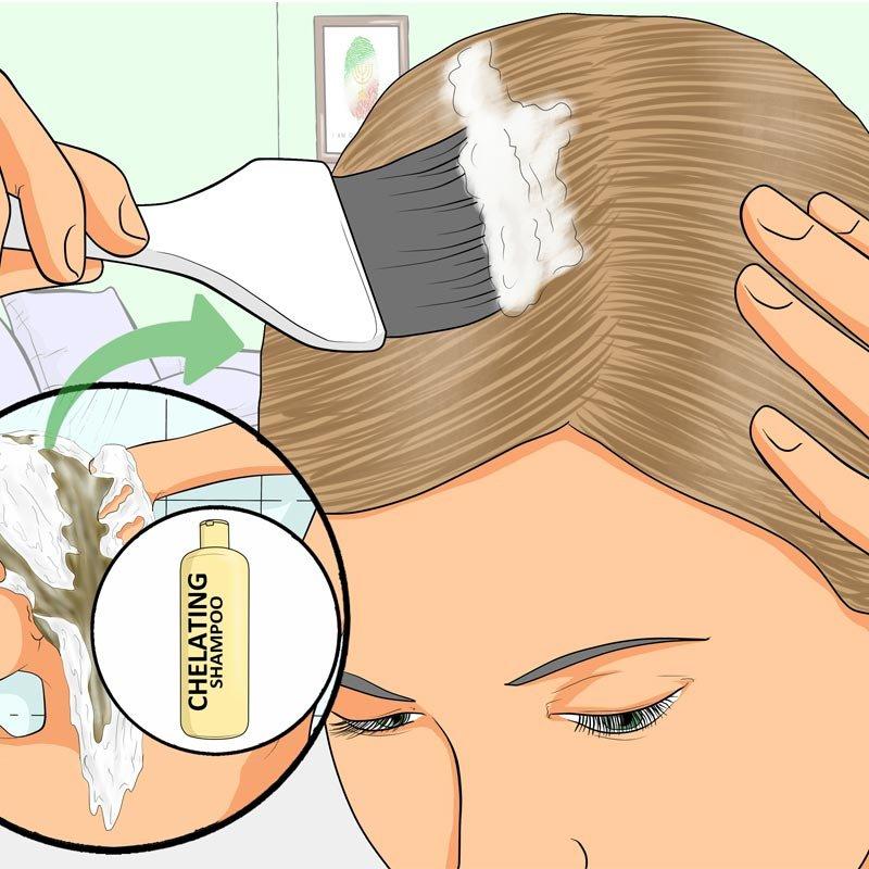 use Clarifying shampoo- IndoreHD