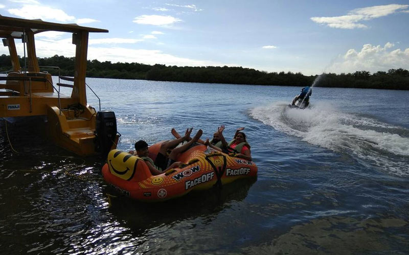 water sports on private land investments by MP Tourism- IndoreHD