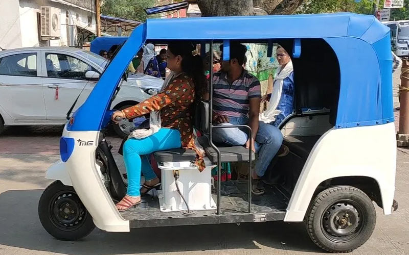 e-rickshaw services Indore- IndoreHD