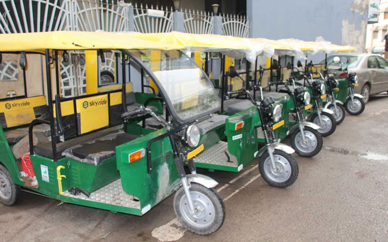 e-rickshaw service routes- IndoreHD