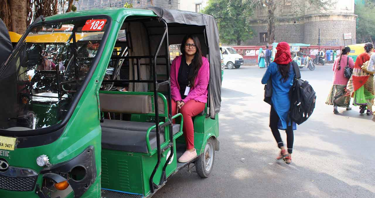 E-rickshaw connectivity in Indore