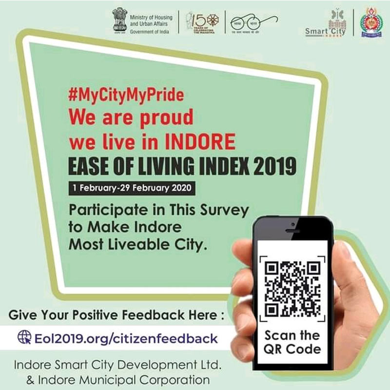 Ease of living Index 2019- IndoreHD