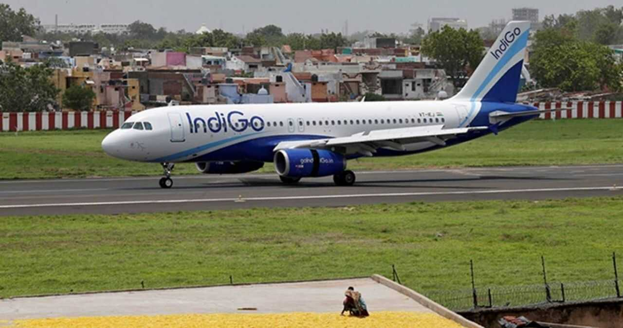 indigo flight from indore to raipur and ahmedabad