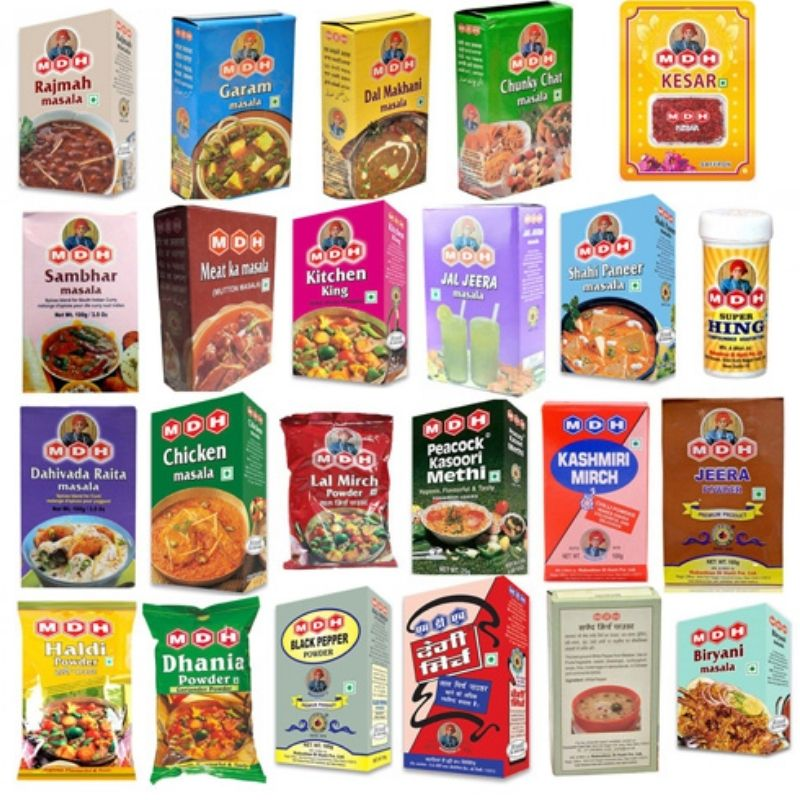 MDH Spices variety